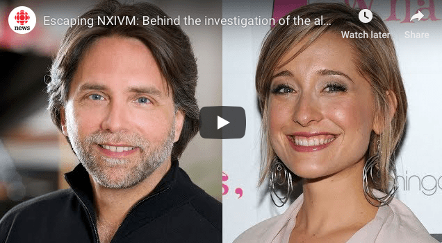 WATCH Escaping NXIVM: Behind the investigation of the alleged sex cult