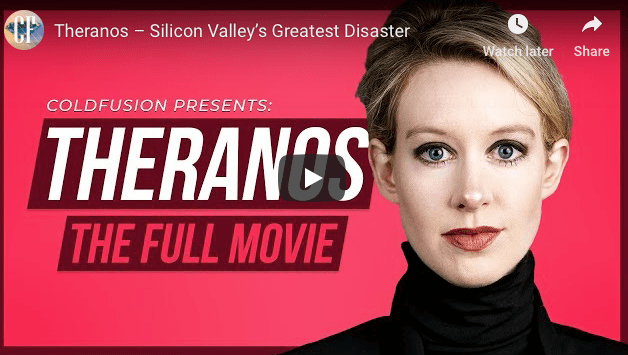 WATCH: Theranos-Silicone Valley's Greatest Disaster: The Fraud of Elizabeth Holmes