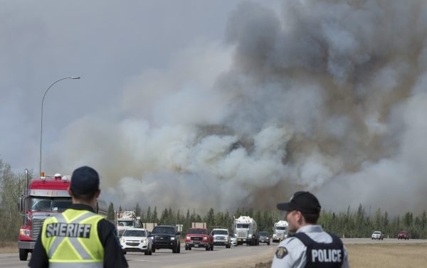Alberta Says 10,000 People Are out of Their Homes Because of Wildfires