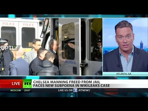 Ben Swann ON: Chelsea Manning Released from Jail But May Be Heading Back
