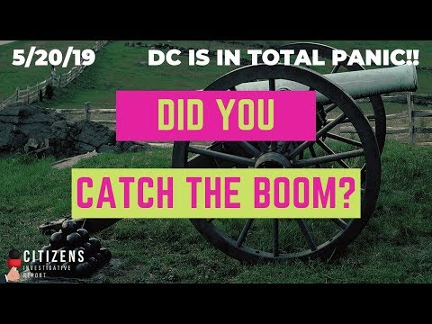 Did you catch the BOOM?  DC in PANIC!
