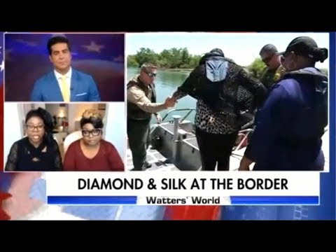 DIAMOND AND SILK AT THE BORDER ON WATTERS WORLD