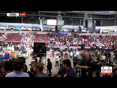 LIVE: Overflow at President Donald J. Trump's Rally in Rio Rancho, NM