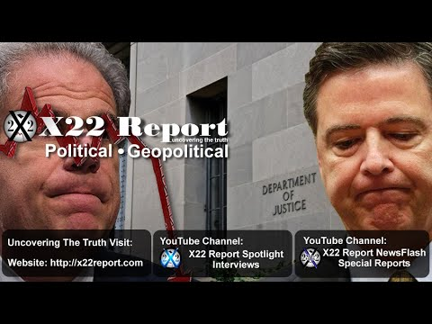 Horowitz Delivers The Bad News To Comey, More Pain Coming –  Episode 1973b