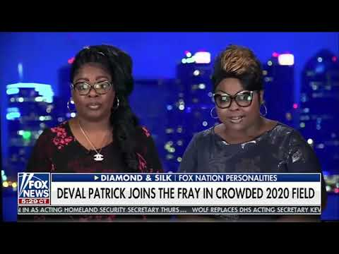 DiamondandSilk on Fox and Friends discussing Deval Patrick jumping into the race.