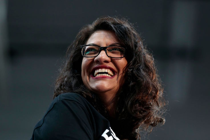 Rashida Tlaib Headlined Anti-Semitic Hate Fest