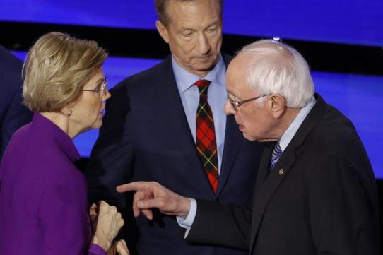 """Bernie Will Play Dirty"" – Former VT Gov Bashes Sanders As Feud With Warren Cools"