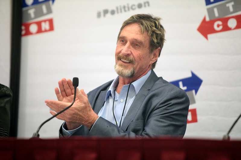 John McAfee just withdrew his famous 2020 prediction about Bitcoin, now says the cryptocurrency is essentially obsolete