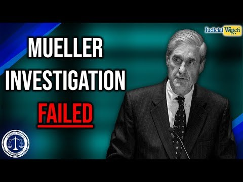 BEST OF 2019: Mueller Investigation Failed To Find Evidence of Trump Russia Collusion