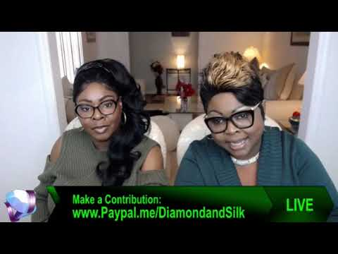 Diamond and Silk Talks about the purging of voter rolls and the black vote.