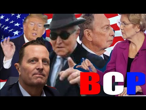 TRUMP WILL LET ROGER STONE CASE PLAY OUT, BUT WILL PARDON HIM IF NECESSARY! NEW DNI. LIZ VS BLOOMY.