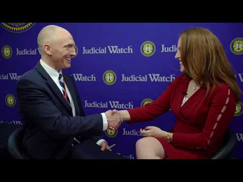 "Carter Page with Judicial Watch @ #CPAC2020: ""So Much Wrongdoing by Obama Admin. w/ #SpyGate"""