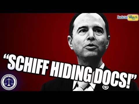 Adam Schiff Trying to HIDE Records on Trump Impeachment Effort–This CANNOT Go Unchecked!