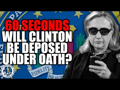 Hillary Clinton Lawyers Ask Court to Overturn Order for Questioning Under Oath by Judicial Watch!