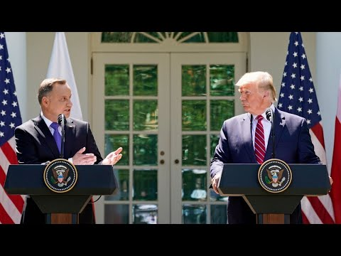 Live: President Trump Holds a Joint Press Conference with the President of Poland
