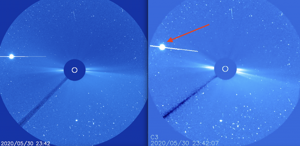 NASA scrubs data: Imagery, shows massive retrograde object approaching ecliptic plane?