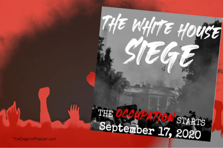 "#WhiteHouseSiege – This Group Plans To Lay Siege To"" & ""Occupy"" The White House Next Month"
