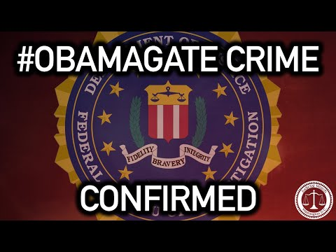 #OBAMAGATE UPDATE: U.S. Attorney John Durham OFFICIALLY Confirms FIRST Obamagate Crime!