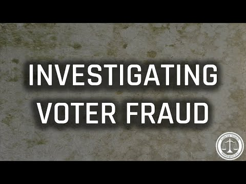 Tom Fitton: Will DOJ Investigate Voter Fraud? Judicial Watch STEPS UP