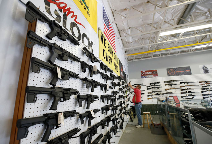 Americans Flocked to Gun Stores on Black Friday