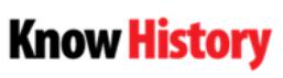 Know History logo