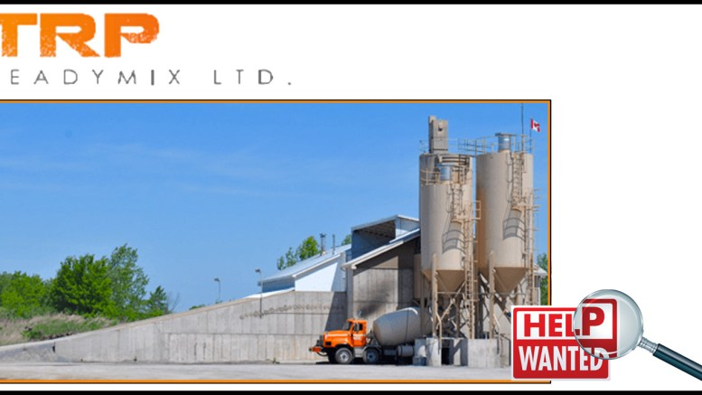 TRP Ready Mix seeking qualified ready mix and Volumetric
