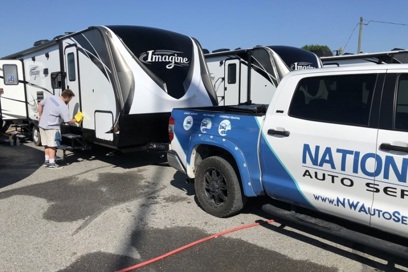 nationwide overspray dallas rv