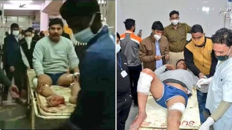 RSS workers, Maqsood's family went out to collect Ram temple donation
