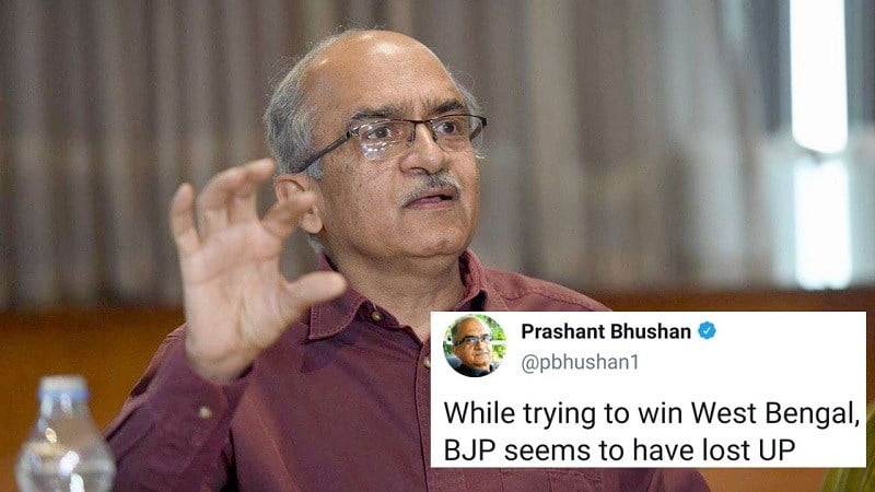 The country got the first 'movement' in the form of Prashant Bhushan, do not know where UP and Haryana are