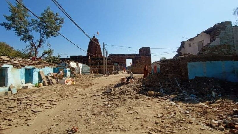 Udaipur: Easy way to go to Neelkantheshwar, removed encroachment