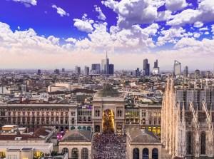 Paul Pablo nati per vivere a milano skyline