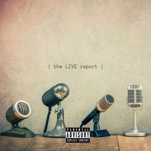 MI Abaga & AQ – The Live Report (EP) artwork