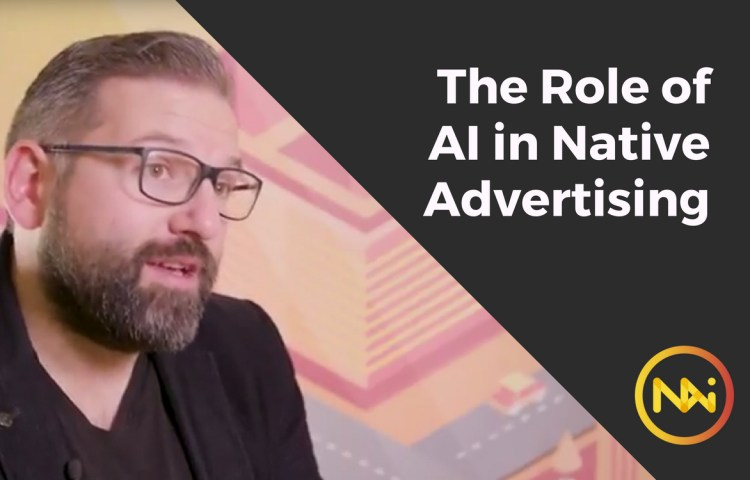 ai native advertising