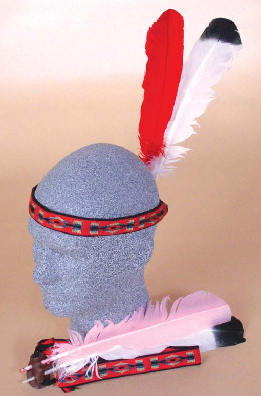 Brave Squaw 2 Feather Headdress