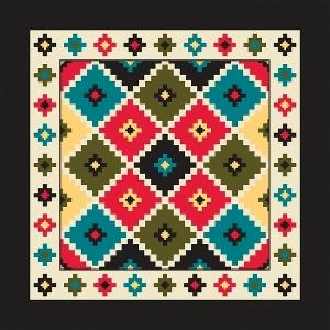 Aztec Design Bandana 56-137