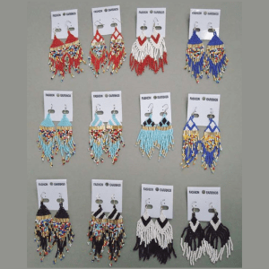 Beaded Earrings Assorted Styles