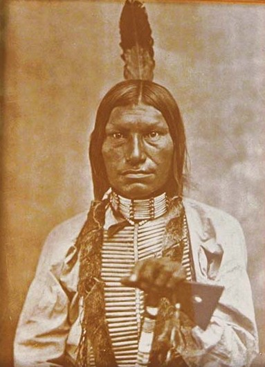 Chief Low Dog Tin-Type Print 16-12-26