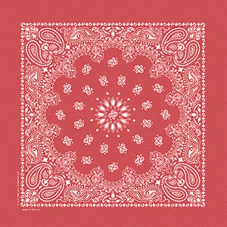 Red Stone Washed Bandana 56-601