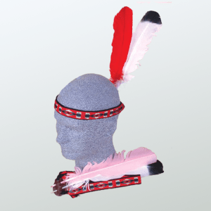 Brave Squaw 2 Feather Headdress