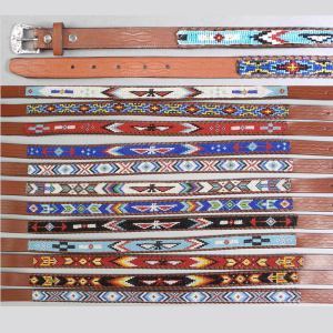 Kids Beaded Belts