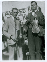 Henry Reed with Fred Pendleton