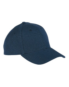 navy hemp hat