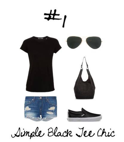 01 Simple Black Tee Chic