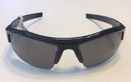 Under Armour Igniter Sunglasses - Shiny Black Frame - Gray Lens