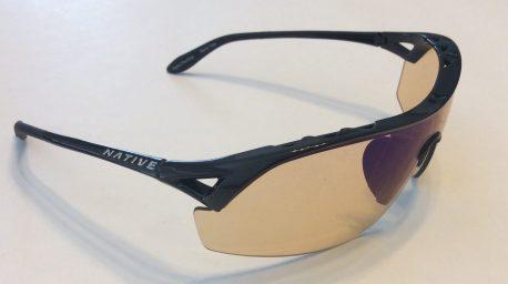Native Eyewear Nova Sunglasses - Iron Black Frame - Sportflex Lens