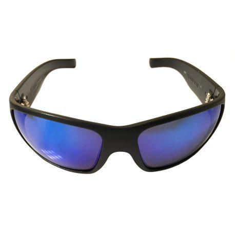 Hoven Vision Times Sunglasses - Black Frame - ANSI Compliant - Polarized Tahoe Blue Lens