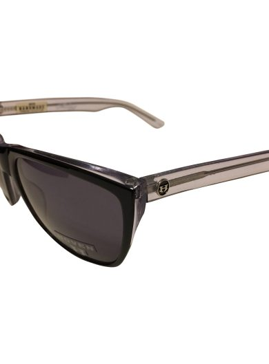 Hoven Vision Katz Sunglasses - Black & Clear Frame - Grey Lenses