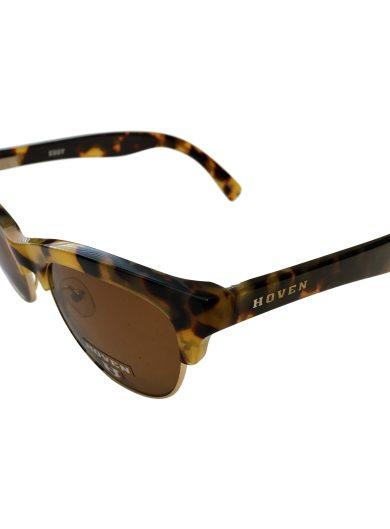 Hoven Vision Eddy Sunglasses - Animal Tortoise Frame - POLARIZED Brown Lens