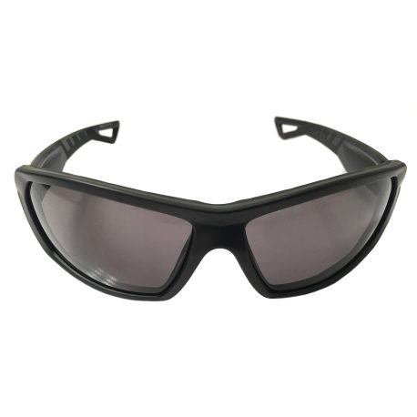 Under Armour Rage Sunglasses UA Performance Eyewear - Satin Black - Gray
