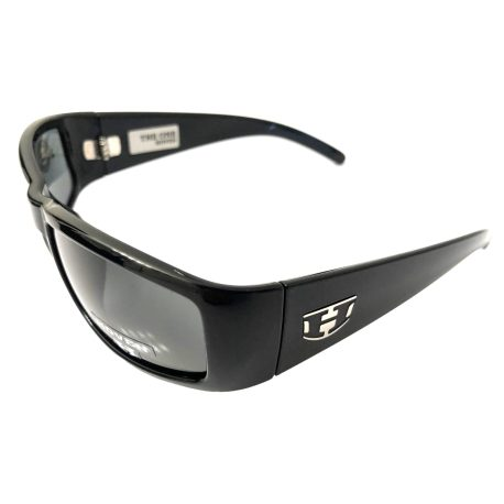 Hoven Vision The One Sunglasses ANSI Gloss Black POLARIZED Grey Lens
